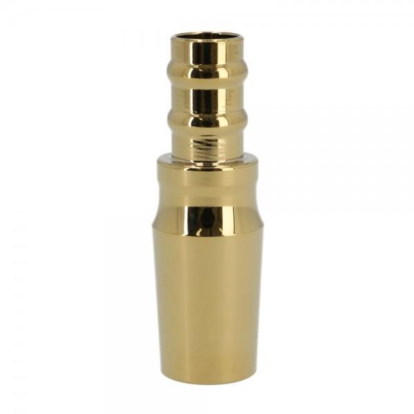 Smokezilla Schlauchanschluss für Muto & Baragon Edelstahl Shiny Gold 18/8