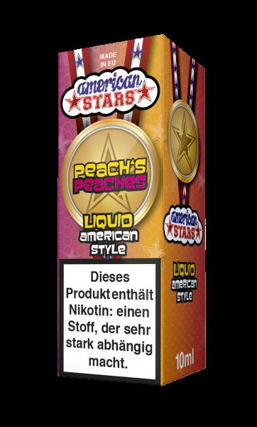American Stars Peachs Peaches Liquid 10ml