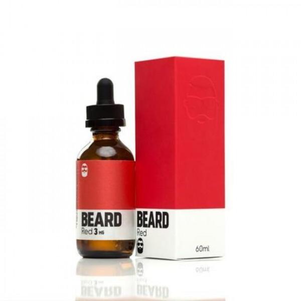 Beard Vape Colors - Red - 0mg Nikotin - 60ml