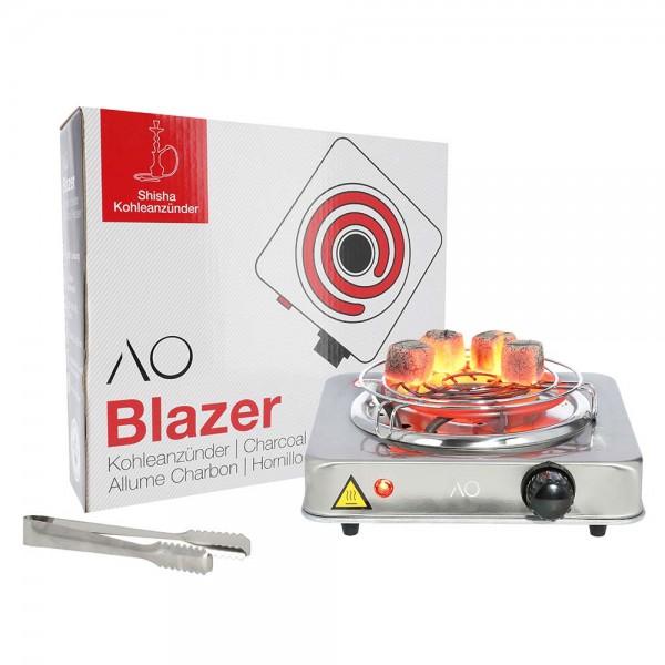 AO Blazer Premium Kohleanzünder Edelstahl 1000W