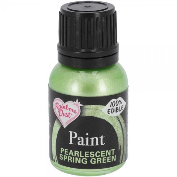 Rainbow Dust Metallic Lebensmittelfarbe Spring Green