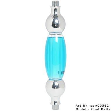 Glasrauchsäule Kaya PNX 590 mit Adaptern - Cool Belly
