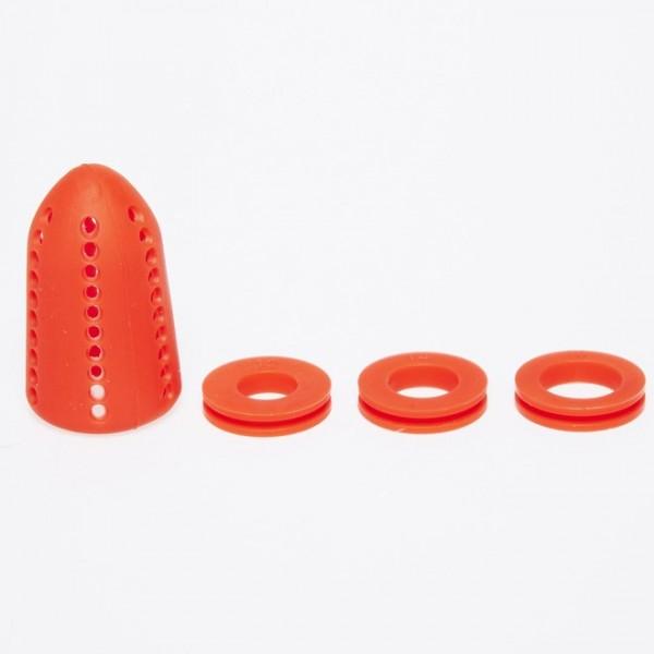 Diffusor Silikon 3 Ring Rot
