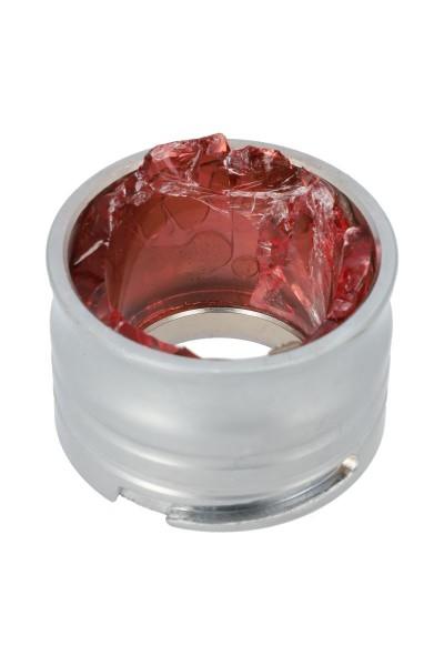 INVI Saros Gewinde zum Selbstablösen Zinkmetall Silber