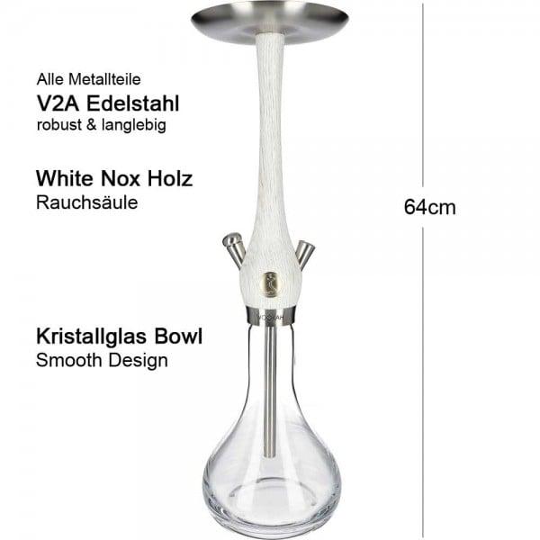 Wookah White Nox Smooth V2