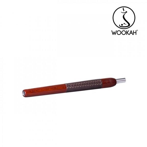 Wookah Holzmundstück Padouk Leder