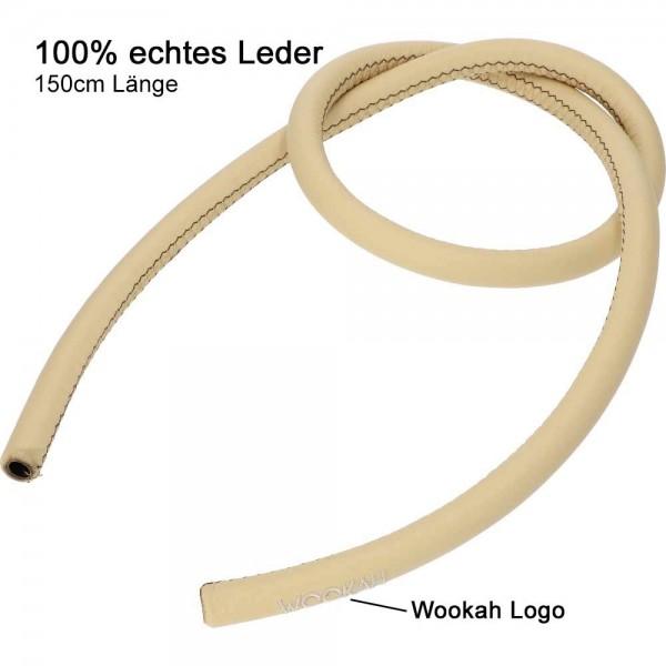 Lederschlauch Wookah Beige