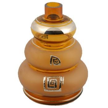 Glas MYA Gelato Grande Chrom Amber