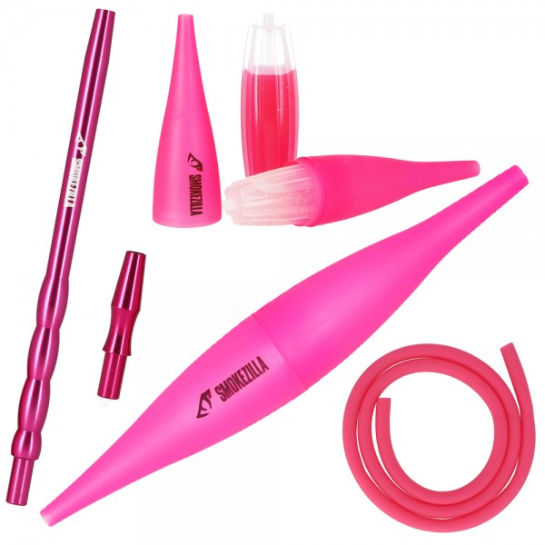 Smokezilla COOLIN Ice Bazooka + Alumundstück Set Pink
