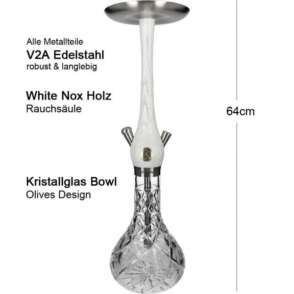 Wookah White Nox Olives Mastercut V2