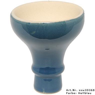 Tabaktopf MYA ägyptisch Large Hellblau