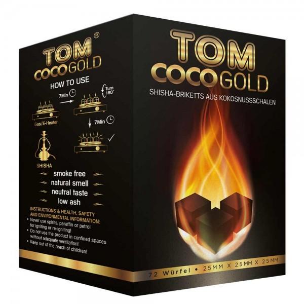 TOM Cococha Kokoskohle Gold 1kg