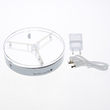 Mata Leon LED Untersetzer Beam Up mit Bluetooth Lautsprecher 15cm