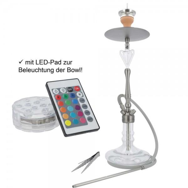 Smokezilla Viras Anthrazit mit LED