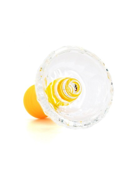 Cyborg Glas Tabakkopf Hulkman Yellow