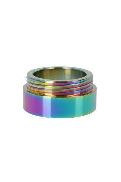 CYGN Nibiru Gewinde Edelstahl Rainbow
