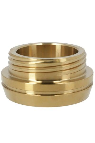 Smokezilla Cycor Gewindering Edelstahl Gold