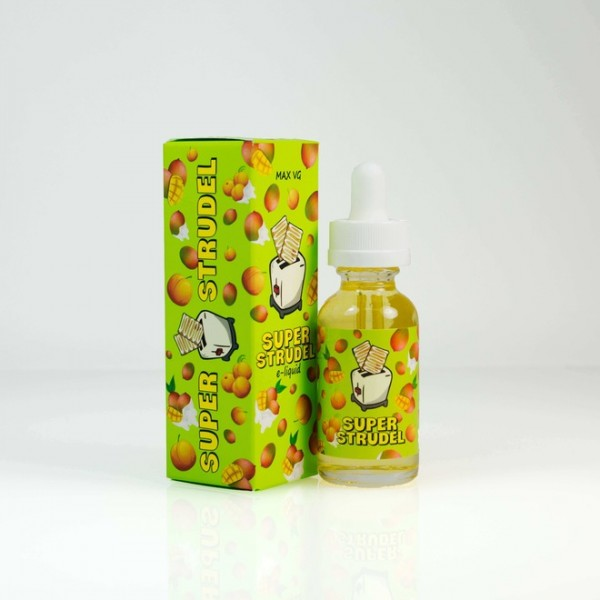 Beard Vape - Super Strudel Mango & Peach Jelly - 0mg Nikotin - 10ml