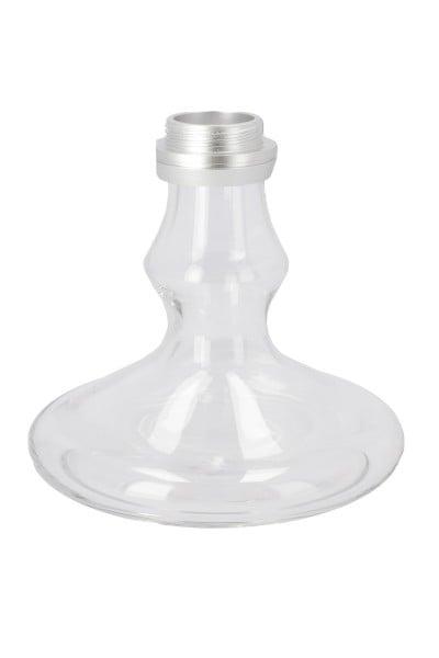 Ersatzglas Smokezilla Baragon Alu Silber Clear