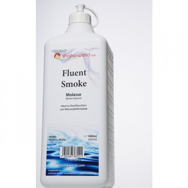 Shisha-World Fluent Smoke Molasse Glycerin 1000ml