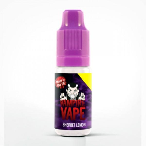Vampire Vape Liquid 0mg - 10ml - Sherbet Lemon