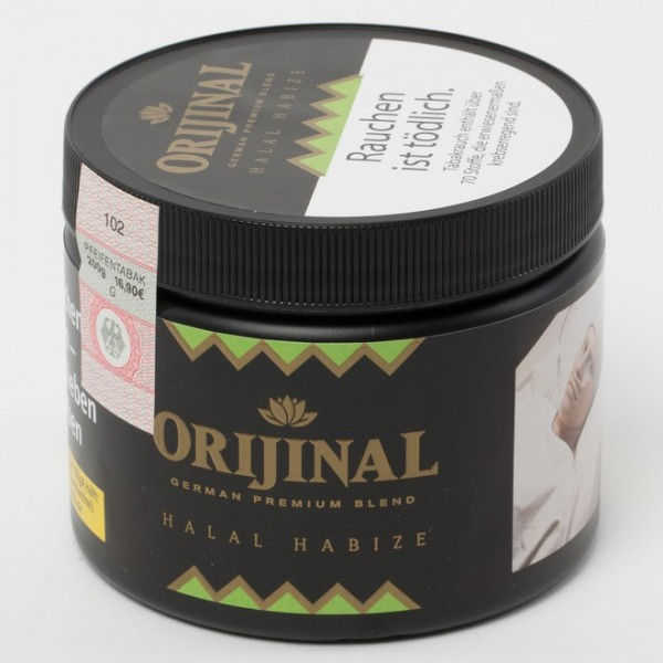 Orijinal Tobacco Halal Habize 200g