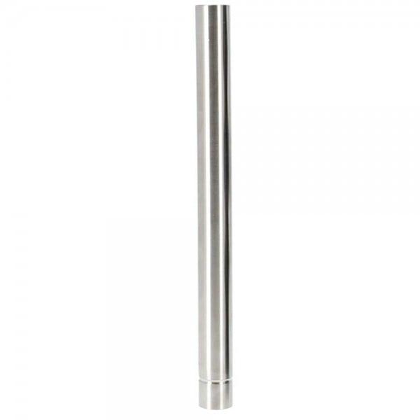 INVI Wasserrohr Edelstahl Silber 23cm