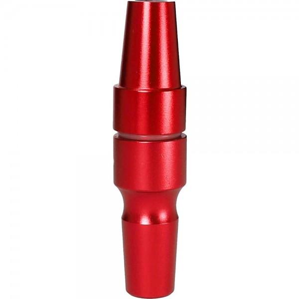Smokezilla Kopfadapter 18/8 Alu Rot