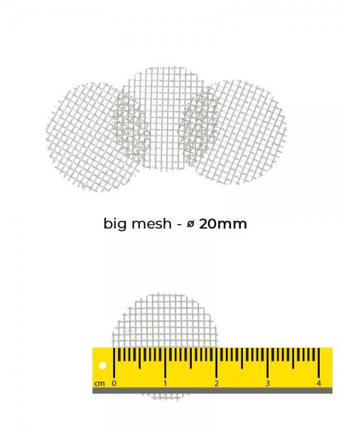 Aryva Big Mesh Einlegesieb Ø=20mm - 100er-Pack
