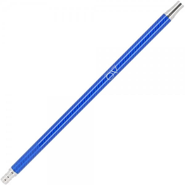 AO Carbon Mundstück Edelstahl V2A Blau