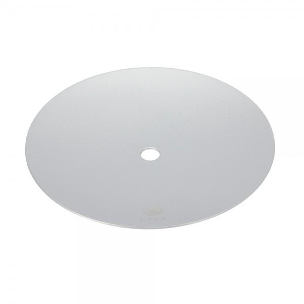CYGN Kohleteller Alu Silber 24cm