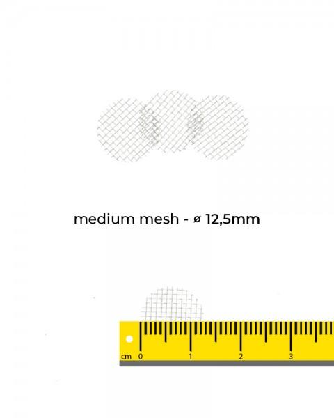 Aryva Medium Mesh Einlegesieb Ø=12.5mm - 100er-Pack