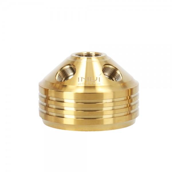 INVI Rauchbase Tesseract Edelstahl Shiny Gold