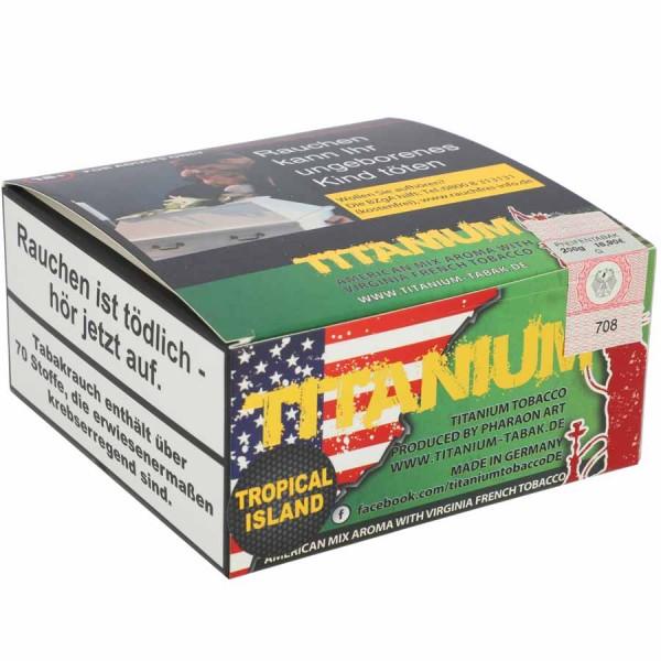 Titanium Tabak RF Tropical Island 200g