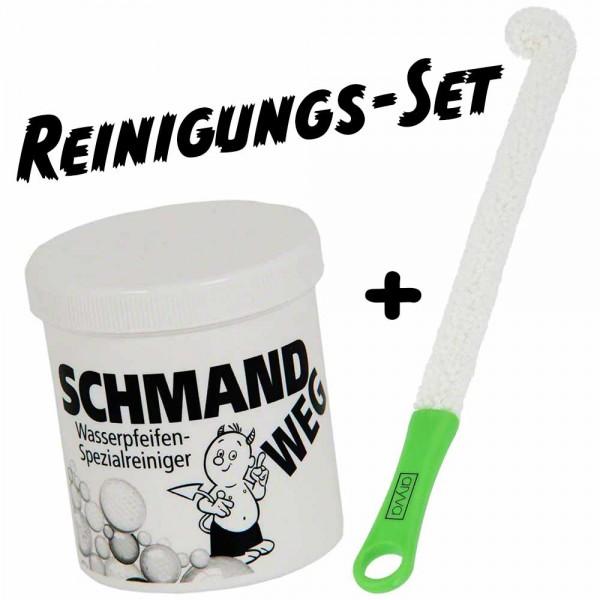 Shisha-World Reinigungsset Schmandweg + Boobie Brush Grün