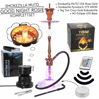 Smokezilla MUTO GOOD NIGHT ROSIE Edelstahl Komplettset