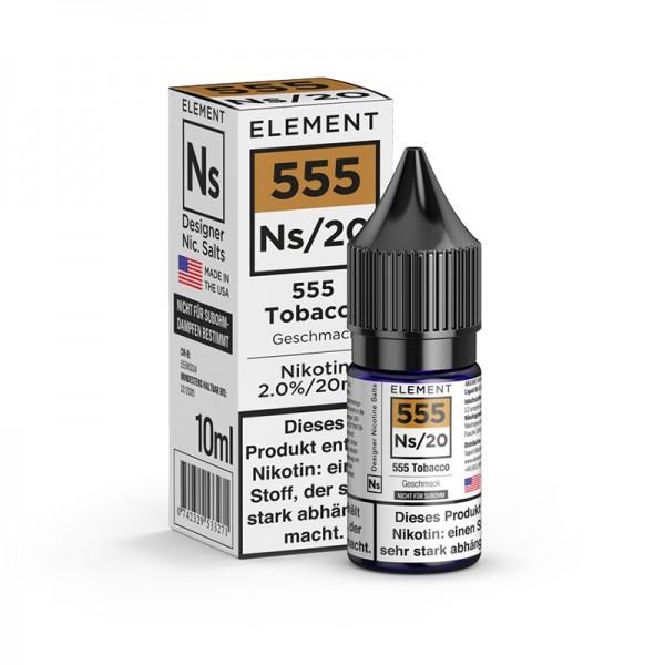 Element E 555 Tabak Nikotinsalz 10 ml