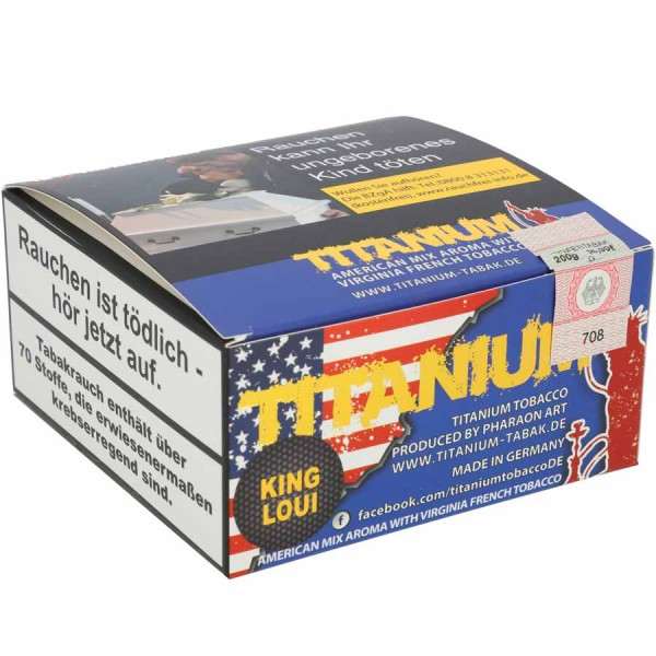 Titanium Tabak RF Kind Loui 200g