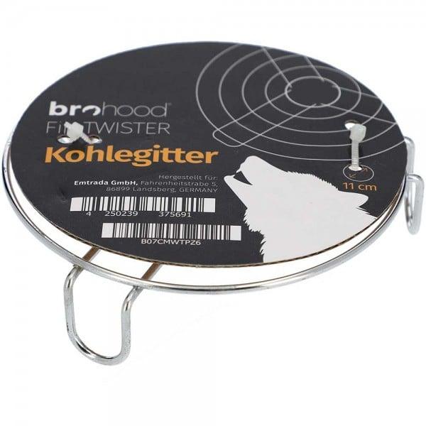 Brohood Kohlegitter Firetwister 11cm