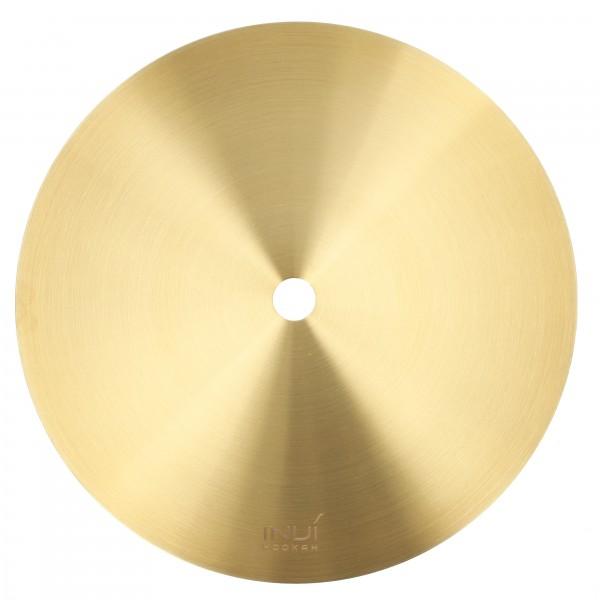 INVI Kohleteller Edelstahl Shiny Gold 20cm