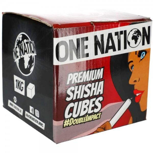 One Nation Kokoskohle #Double Impact 1kg