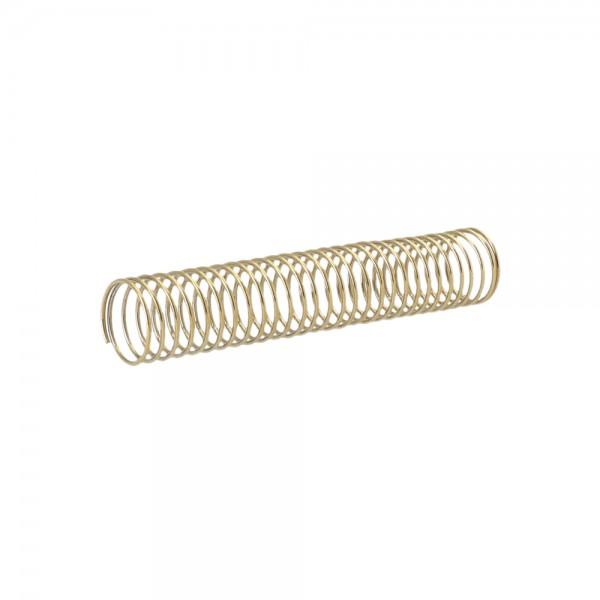 AO Schlauchfeder Gold 11cm