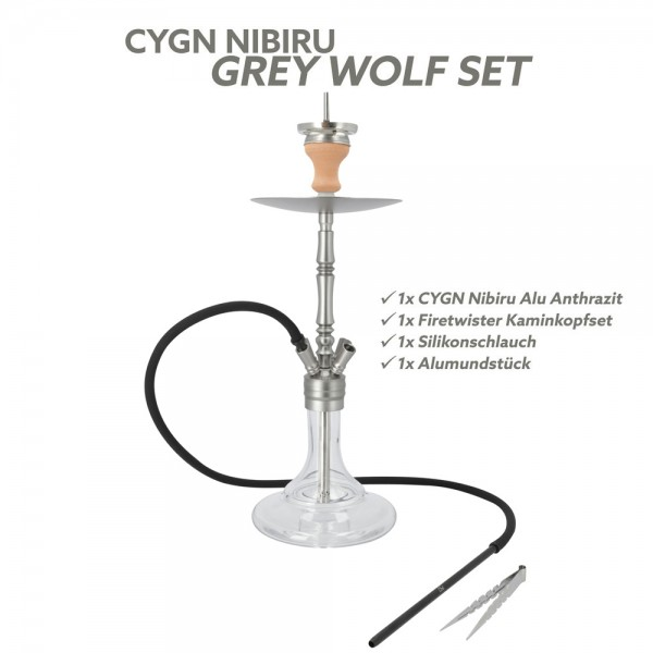 CYGN Nibiru Grey Wolf Set Alu Anthrazit