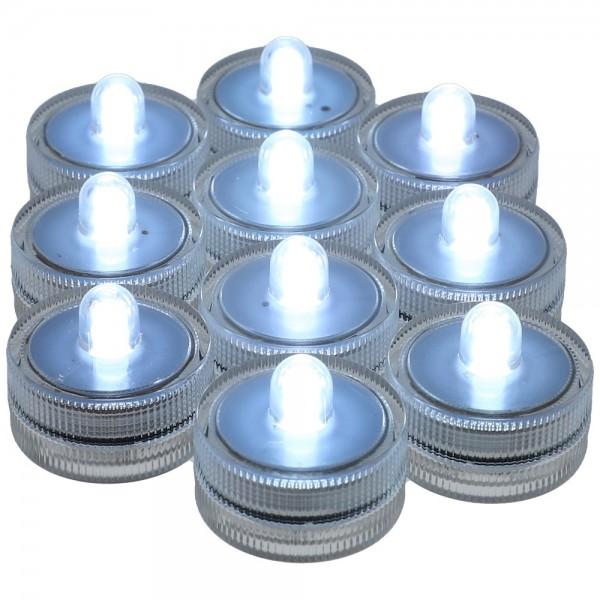 AO Hookah ECLIPSE LED-Mini White 10er Pack
