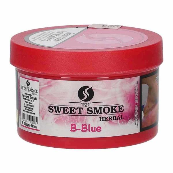 Sweet Smoke Herbal B Blue 200g