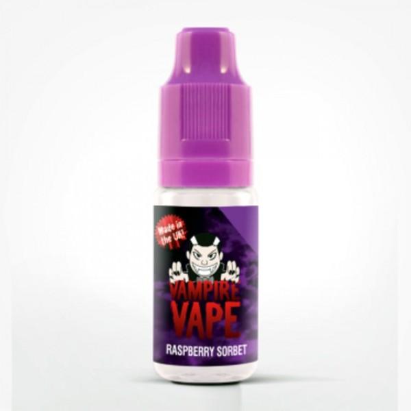 Vampire Vape Liquid 0mg - 10ml - Raspberry Sorbet