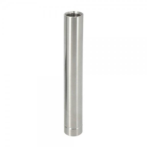 INVI Wasserrohr Edelstahl Silber 14cm