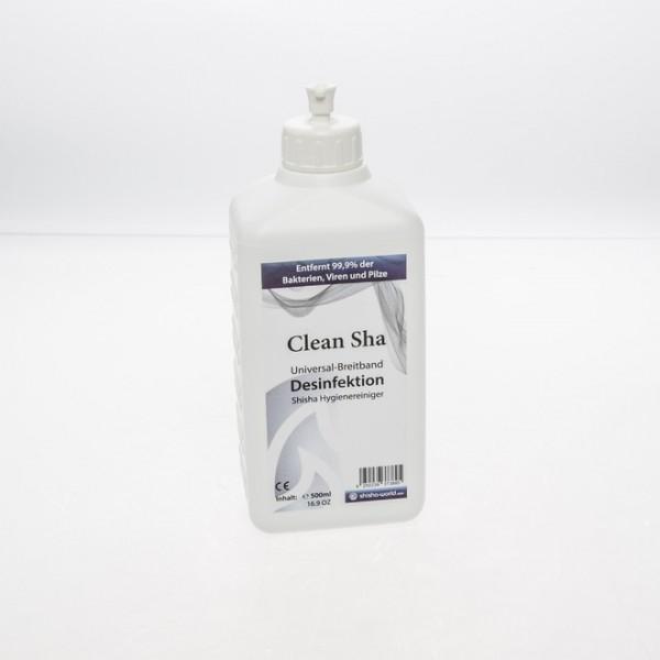 Reiniger Desinfektionsmittel Clean Sha Shishaworld 500ml