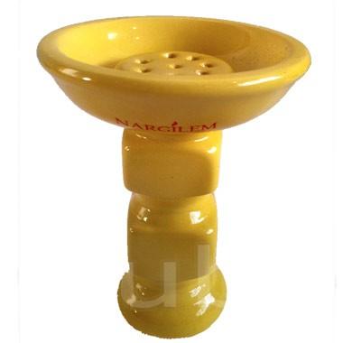 Tabaktopf Nargilem Power Bowl Cube Gelb