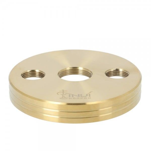 INVI Nano Rauchbase Edelstahl Gold